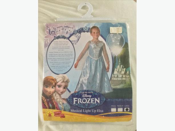 Disney Frozen Light Up Elsa Costume. Brand New in Bag