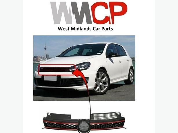 VW GOLF MK6 GTI 2009-2013 FRONT MAIN CENTRE GRILLE