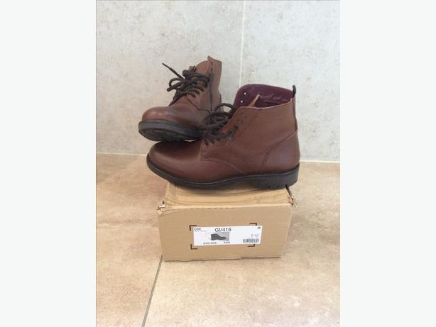 NEXT Men's Boots Brown Size 8 (New & Boxed)