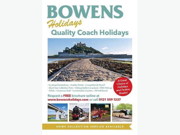 Bowens Holidays Quality Coach Holidays