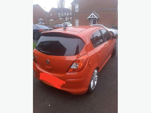 WANTED: 2008 vauxhall corsa design
