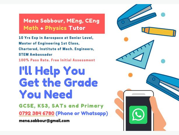 Maths, Science and Physics Tuition