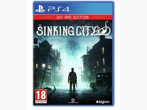 WANTED: Sinking City for three ps4