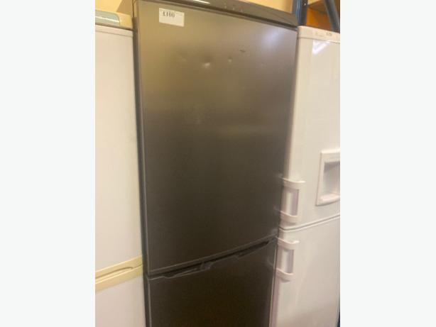 grey crd fridge freezer with 3 months warranty
