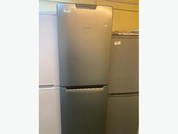 silver hotpoint future fridge freezer with 3 months warranty
