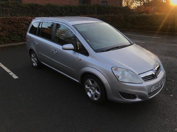 2009 58 Vauxhall Zafira 1.9 Cdti Breeze 7 Seater