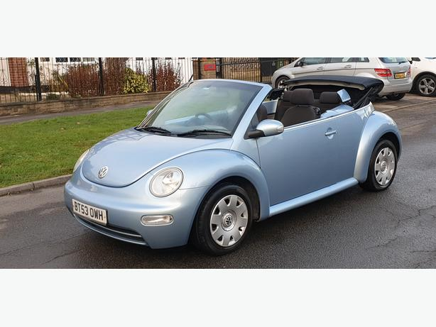 VOLKSWAGEN BEETLE 1.6 CABRIOLET 2003)FULL SERVICE HISTORY