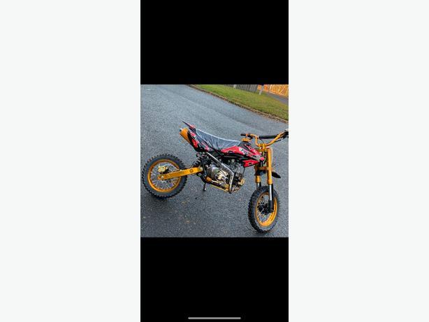 brand new 125 pitbike