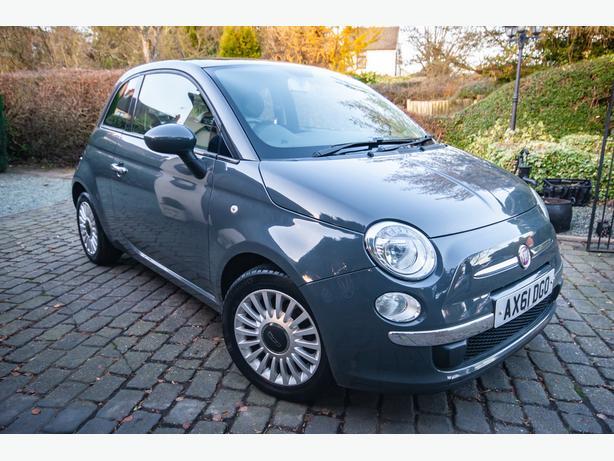 2012 Fiat 500 Lounge 1.2 Petrol Manual (new clutch, new MOT)