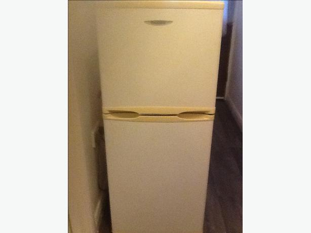"Small fridge freezer 3ft 10"" delivery available"