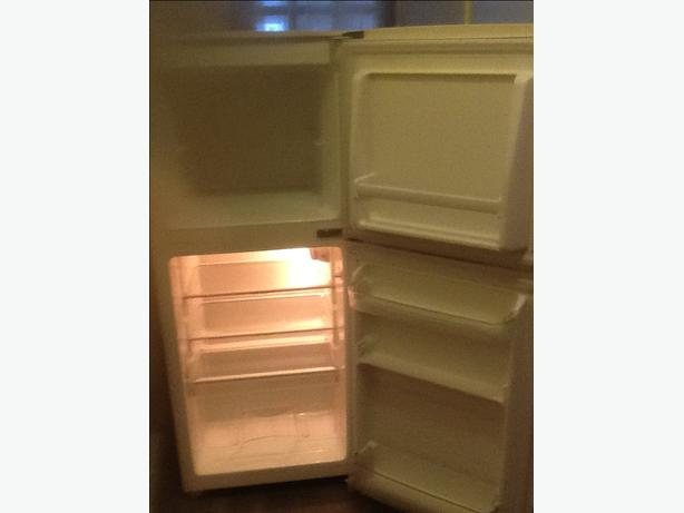 Small fridgefreezer H-3ft 10 can be delivered