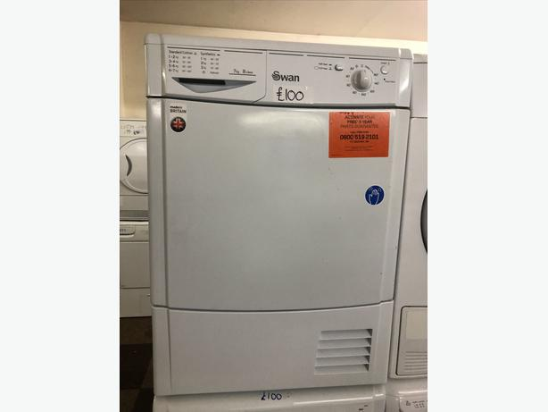 SWAN EXCELLENT CONDITION CONDENSER DRYER 7KG LOAD🇬🇧🇬🇧