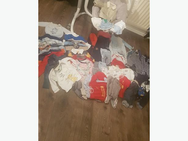 huge baby boy bundle 3-6 months