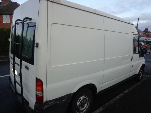 ford transit 54 reg 2.0 diesel+mot july 2020+tax+medium wheel+high roof