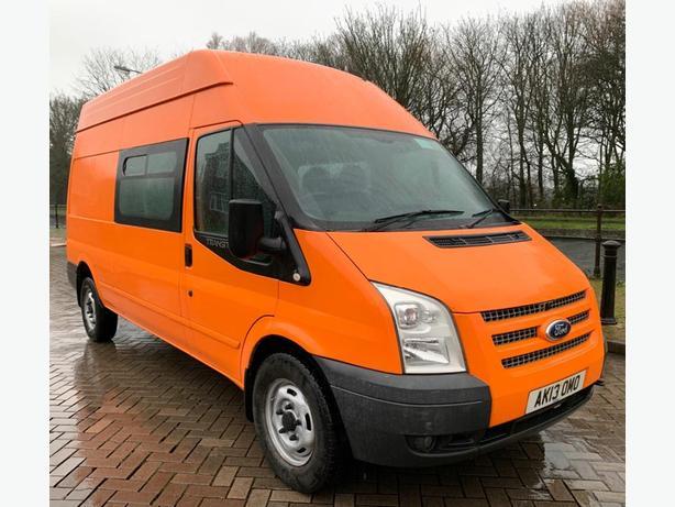 2013 Ford Transit MK7 125 Euro 5 2.2 RWD Crew Van