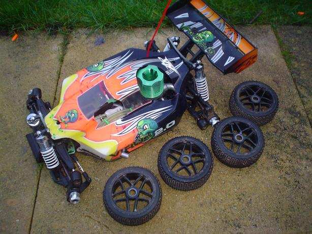 VIRUS RC NITRO BUGGY