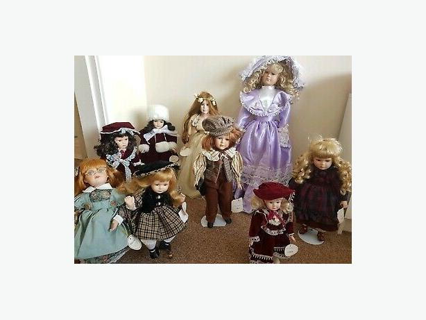 Collectable vintage joblot Dolls