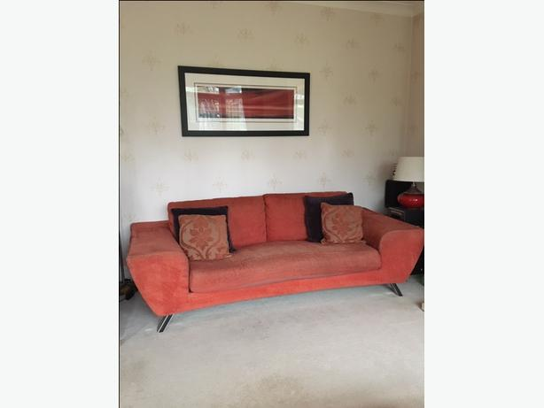 Sofa Suite 3 piece suite 3 seater 2 seater and armchair