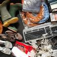 joblot household items some Vintage ideal carboot tabletop  auction