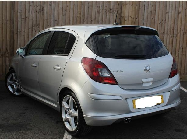 vauxhall corsa 2010 top spec 1.4 sri+RARE 5 DOOR+mot june+tax+DELIVERY