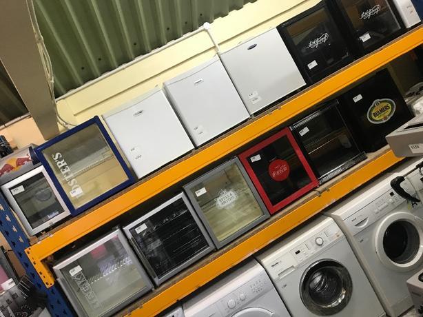 glass fridges 3 months gurarantee at recyk