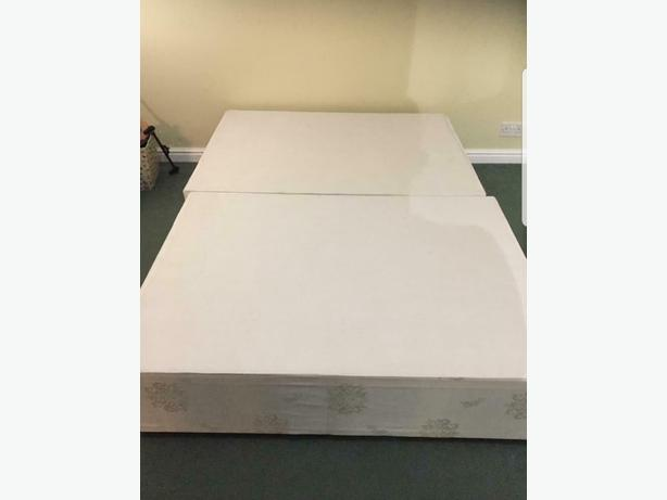 Nice Double Divan Bed Base Good Condition Can Deliver £5 Locally