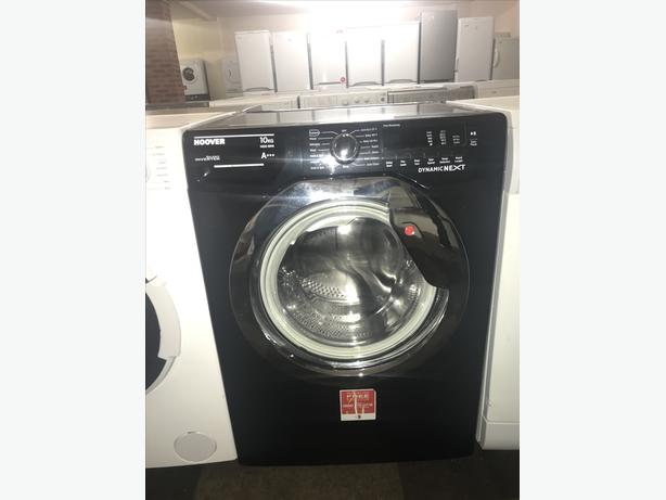 HOOVER 10KG WASHING MACHINE/ WASHER - BLACK WITH GENUINE GUARANTEE