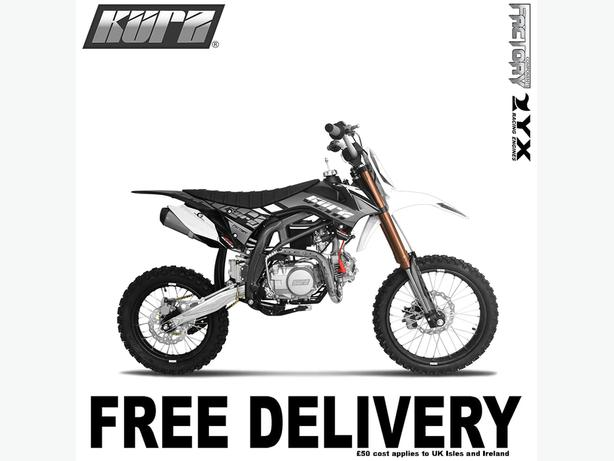 KURZ FS 140cc 17/14 Big Wheel Off Road Pit Bike 88cm, Not Road Legal