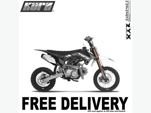 KURZ FS 110cc 14/12 Semi-Automatic Off Road Pit Bike 74cm, Not Road Legal