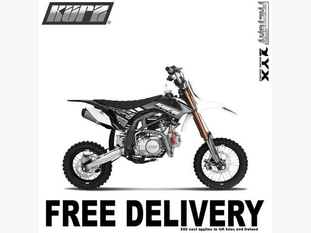 KURZ FS 140cc 14/12 Small Wheel Off Road Pit Bike 83cm, Not Road Legal