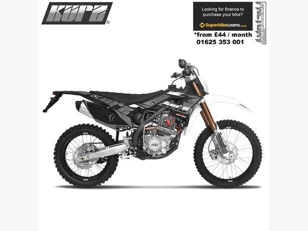 KURZ FS 125 - Pit Bike - Learner Suitable - Enduro - Road Legal - Motorcycle