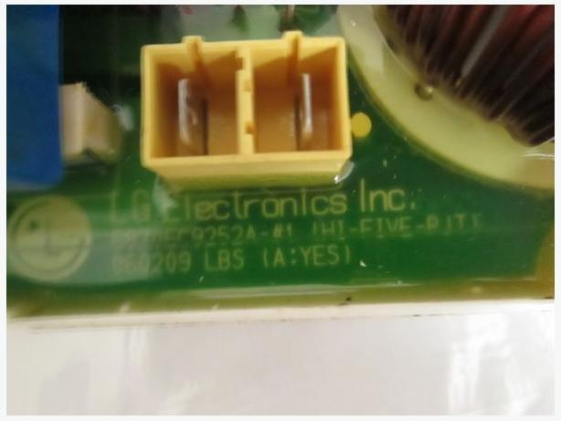A6870EC9252A LG WM-1437WFD Washing Machine PCB Display Board 6870EC9252