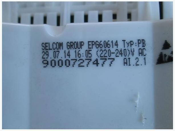 9000727477 EPG60614 TYP:PB 03434022 Bosch Dishwasher PCB Control Module