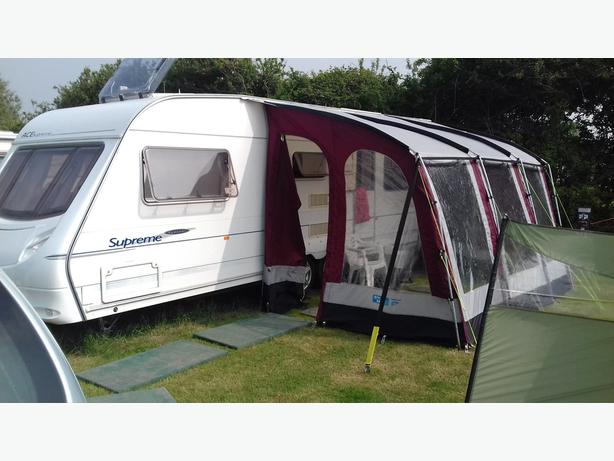 Ace Supreme Sunstar 6 birth twin axle