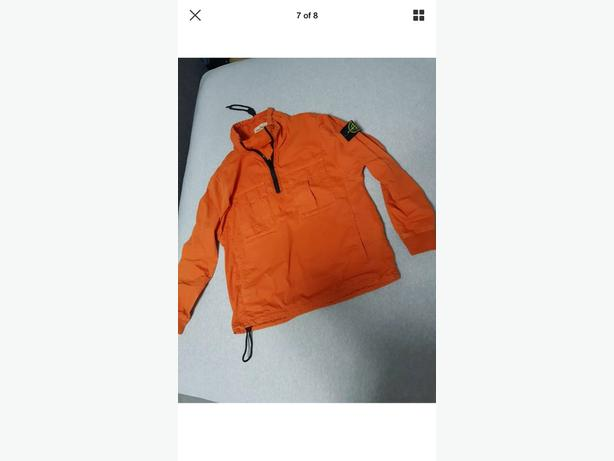 stone island smock jacket