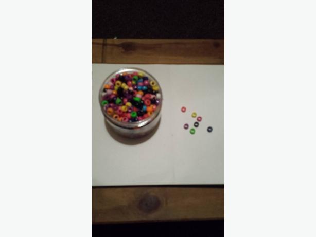 children's plastic beads