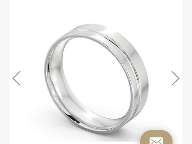 Lost white gold wedding ring
