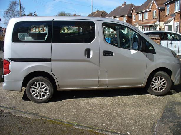 2010 Nissan NV200 SE DCI 1500 Diesel Camper Van