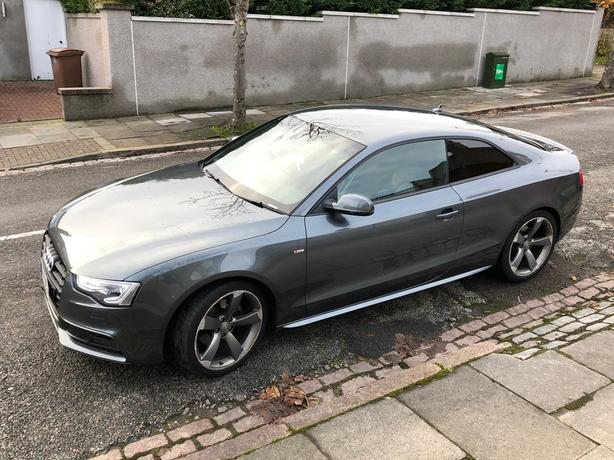 Audi A5, 2012 Grey Coupe, Manual Diesel, 79,000 miles
