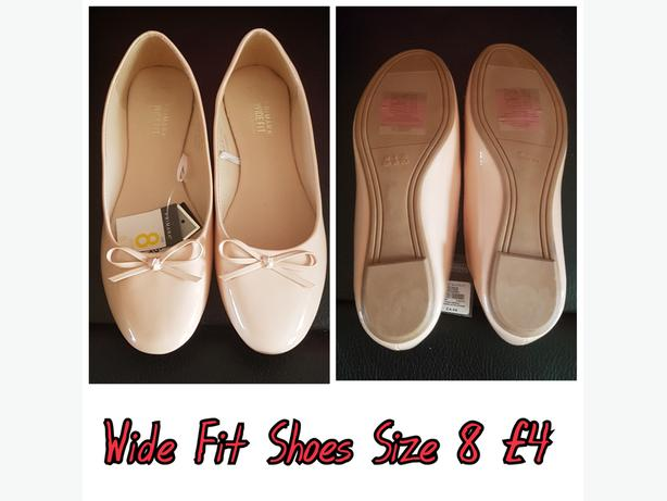 Wide Fit Shoes Size 8 WOLVERHAMPTON, Dudley
