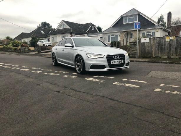 Audi A6, 2012 (62) Silver Saloon, Manual Diesel, 131,000 miles