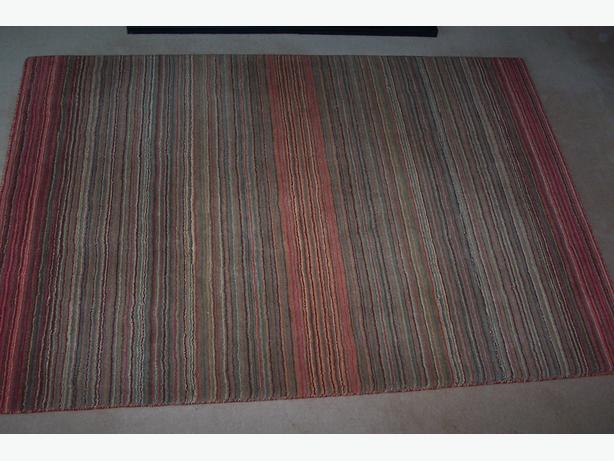 NEXT 100% WOOL RUG 6FT 6INS X 4FT 6INS