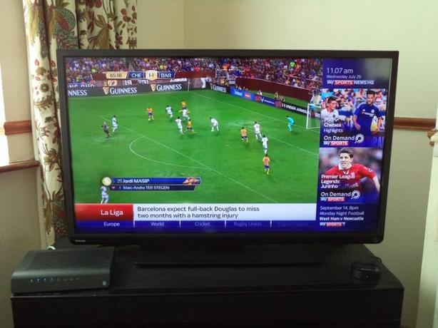 toshiba 40 inch full hd 1080p led tv+freeview+remote+DELIVDERY AVAILABLE