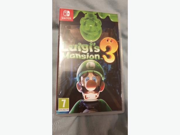 Luigis Mansion 3 on Nintendo Switch Like New