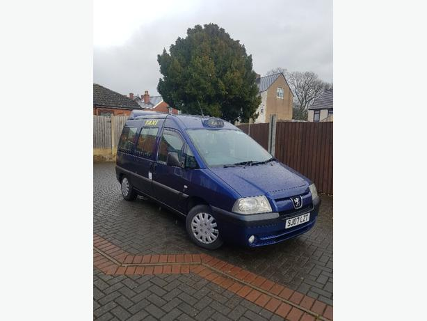 Peugeot E7 Taxi 2007 Dudley Plated