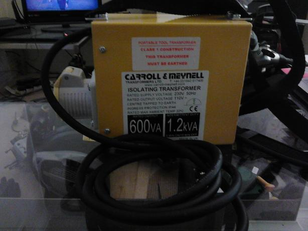 1.2kw 110v transformer hand held portable