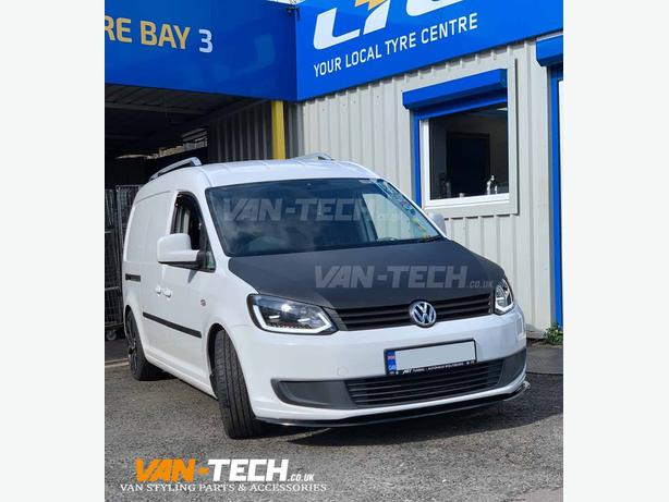 VW Caddy Lightbar Headlights and Lower Front Splitter