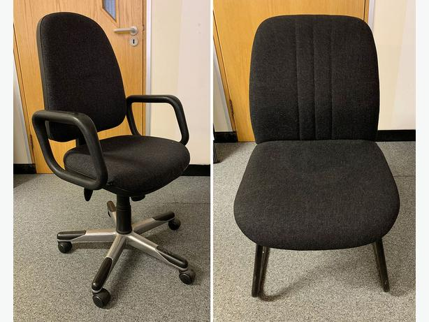 Office Chairs (great condition). Only £20 each (worth £80 each)