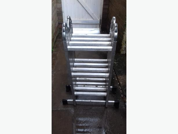 foldable ladders bargain