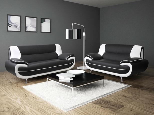 BRANDNEW 3+2 LEATHER SOFA SET